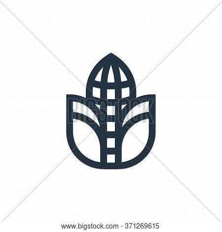 Corn Vector Icon. Corn Editable Stroke. Corn Linear Symbol For Use On Web And Mobile Apps, Logo, Pri