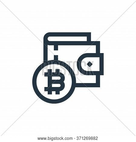 Wallet Vector Icon. Wallet Editable Stroke. Wallet Linear Symbol For Use On Web And Mobile Apps, Log