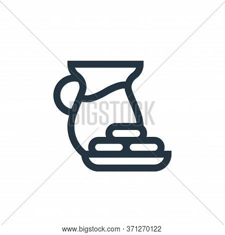 Food And Drink Vector Icon. Food And Drink Editable Stroke. Food And Drink Linear Symbol For Use On