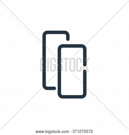 Copy Vector Icon. Copy Editable Stroke. Copy Linear Symbol For Use On Web And Mobile Apps, Logo, Pri