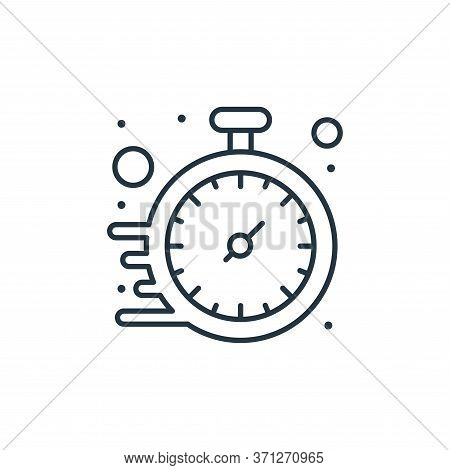 Watch Vector Icon. Watch Editable Stroke. Watch Linear Symbol For Use On Web And Mobile Apps, Logo,