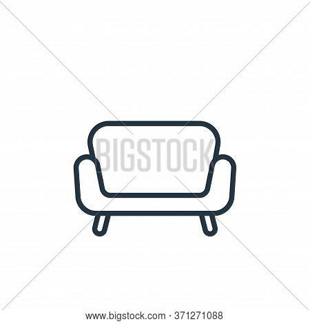 Sofa Vector Icon. Sofa Editable Stroke. Sofa Linear Symbol For Use On Web And Mobile Apps, Logo, Pri