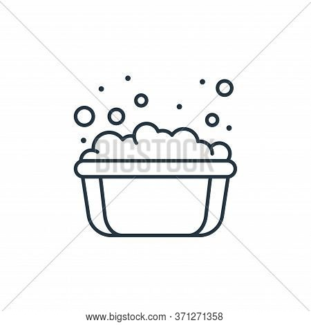 Soap Bubbles Vector Icon. Soap Bubbles Editable Stroke. Soap Bubbles Linear Symbol For Use On Web An