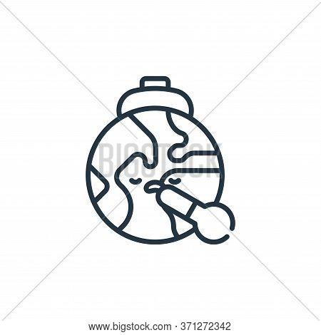 Sick Vector Icon. Sick Editable Stroke. Sick Linear Symbol For Use On Web And Mobile Apps, Logo, Pri