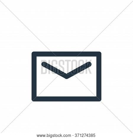 Message Vector Icon. Message Editable Stroke. Message Linear Symbol For Use On Web And Mobile Apps,
