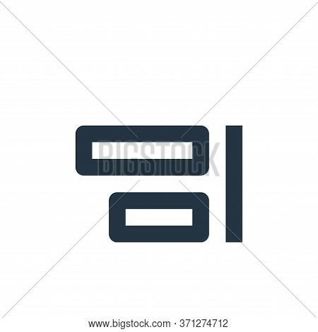 Align Vector Icon. Align Editable Stroke. Align Linear Symbol For Use On Web And Mobile Apps, Logo,
