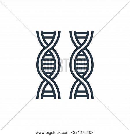 Dna Vector Icon. Dna Editable Stroke. Dna Linear Symbol For Use On Web And Mobile Apps, Logo, Print