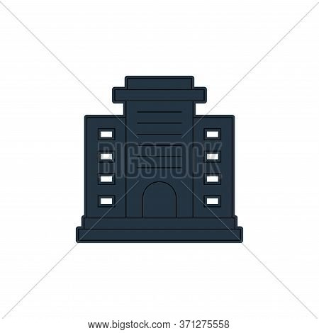 Apartment Vector Icon. Apartment Editable Stroke. Apartment Linear Symbol For Use On Web And Mobile