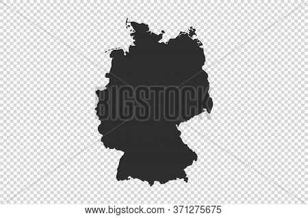France  Map With Gray Tone On   Png Or Transparent  Background,illustration,textured , Symbols Of Fr