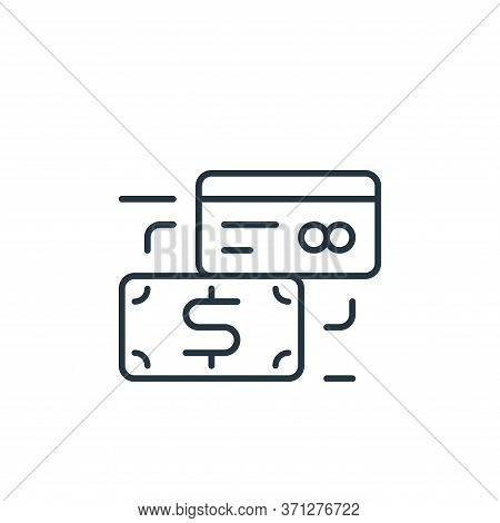 Payment Method Vector Icon. Payment Method Editable Stroke. Payment Method Linear Symbol For Use On