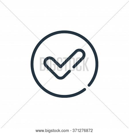 Checklist Vector Icon. Checklist Editable Stroke. Checklist Linear Symbol For Use On Web And Mobile