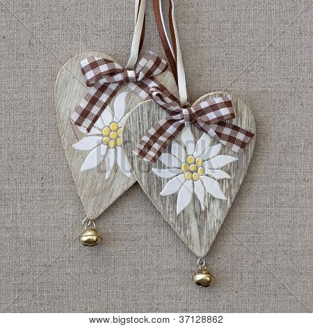 Two Hearts With Edelweiss