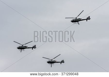 Aerospatiale Gazelle Soko Sa-342 Partizan Helicopters Of The Serbian Airforce