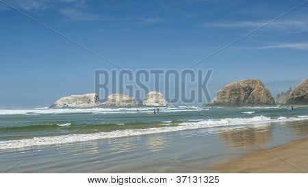 Seascape At Cannon Beach Oregon