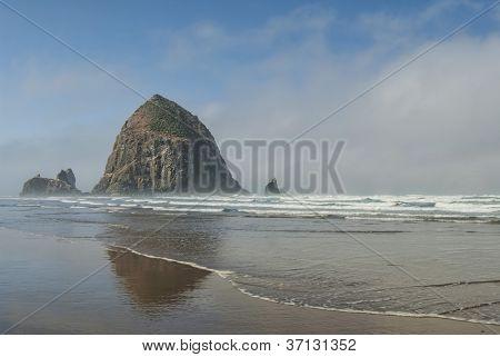 Haystack At Cannon Beach Oregon
