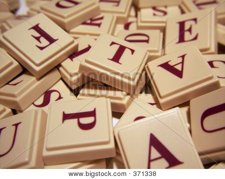 Letter Tile Jumble