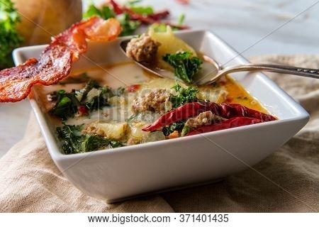 Italian Zuppa Toscana Soup