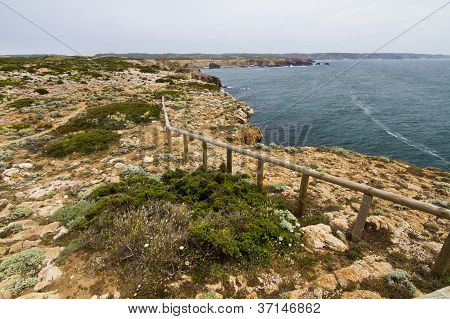 Beautiful Coastline Of Sagres