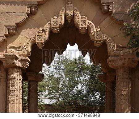 Gwalior, Madhya Pradesh/india : March 15, 2020 - Entrance Of Teli Ka Mandir Or Temple
