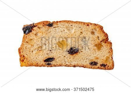 Rusks With Candied Fruit, Isolated On A White Background