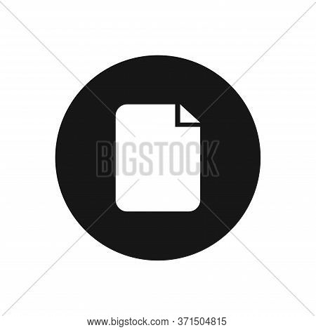 File Icon Isolated On White Background. File Icon In Trendy Design Style For Web Site And Mobile App