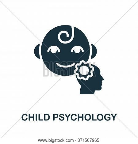 Child Psychology Icon. Simple Element From Psychology Collection. Creative Child Psychology Icon For