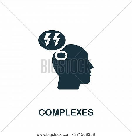 Complexes Icon. Simple Element From Psychology Collection. Creative Complexes Icon For Web Design, T
