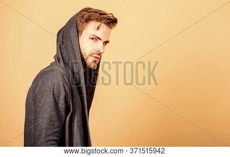 Looking Trendy. Male Fashion And Beauty. Unshaven Guy. Perfect Look Of Muscular Man. Man In Trendy H