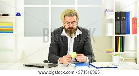 Looking For Inspiration. Thoughtful Manager. Successful Man Entrepreneur Formal Business Suit Sit Of