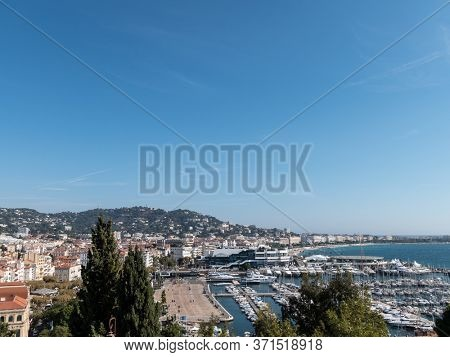 france, the harbor from Cannes