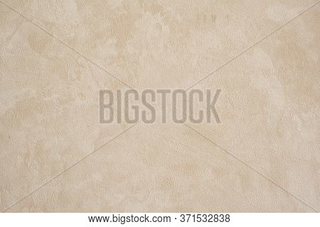 Pimpled Background Texture Of Beige Color. Modern Beautiful Color Concept