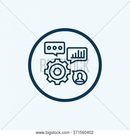 Skills Icon Isolated On White Background From Recruitment Collection. Skills Icon Trendy And Modern
