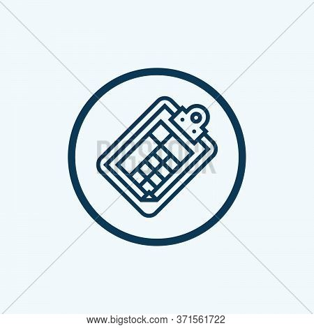 Tax Icon Isolated On White Background From Accounting Collection. Tax Icon Trendy And Modern Tax Sym