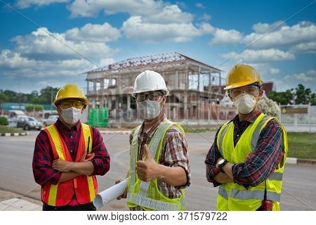 Engineering Team To Build Buildings And Houses