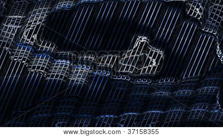 Diagonal Shapes & Black Backgrounds