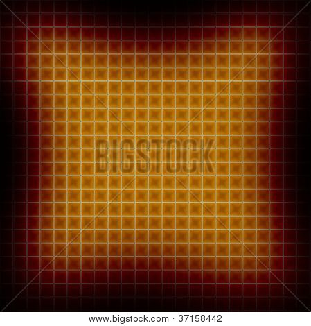 Square Effects Background Within A Black Frame