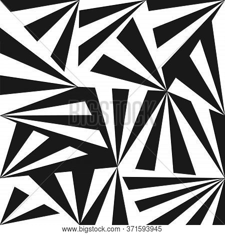 Abstract Pattern In The Zentangle Style For Wide Application In The Decoration And Decoration Of Tex