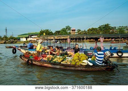 Floating Cai Rang Market Can Tho