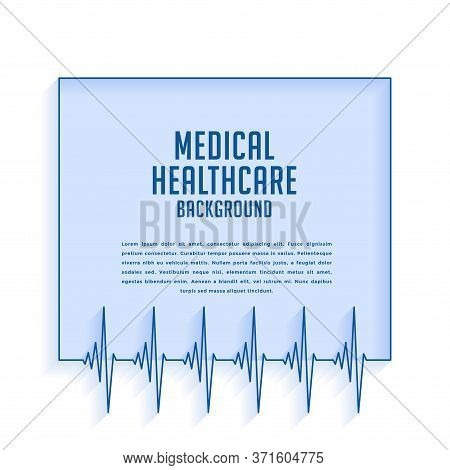 Heartbeat Cardiograph Lines Medical And Healthcare  Background