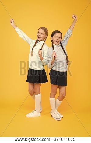 Friendly Relationship. Friendship Goals. Cute School Girls Classmates. My Dear Friend. First School