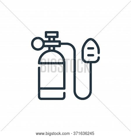 oxygen tank icon isolated on white background from  collection. oxygen tank icon trendy and modern o