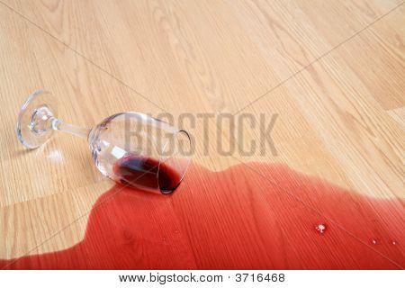 Wine Glass Spill