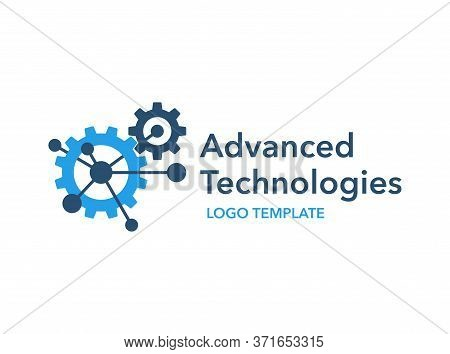 Advanced Technologies Engineering Industry Production Manufacturing Logo Template In Creative Futuri