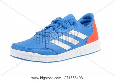 Varna , Bulgaria - February 21, 2019 : Adidas Alta Sport Sport Shoe. Product Shot. Adidas Is A Germa