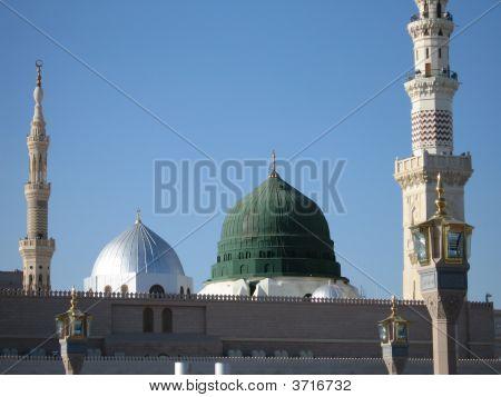 Prophet\'S Mosque - Green Dome