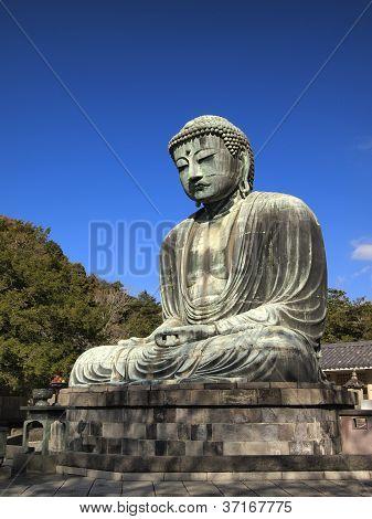 Daibutsu, The Giant Buddha Statue Of Japan