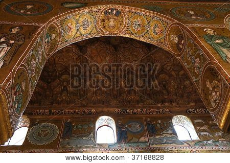 The Palatine Chapel of Palermo in Sicily