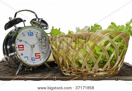 Salad In Basket
