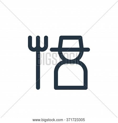 gardener icon isolated on white background from  collection. gardener icon trendy and modern gardene