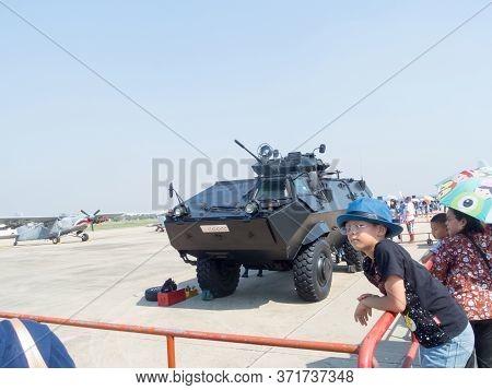 Royal Thai Air Force Don Muang Bangkok Thailand-12 January 2019:national Children's Day. On Don Muan